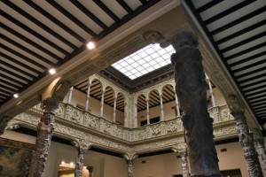 Ibercaja abre al público la galería superior del Patio de la Infanta